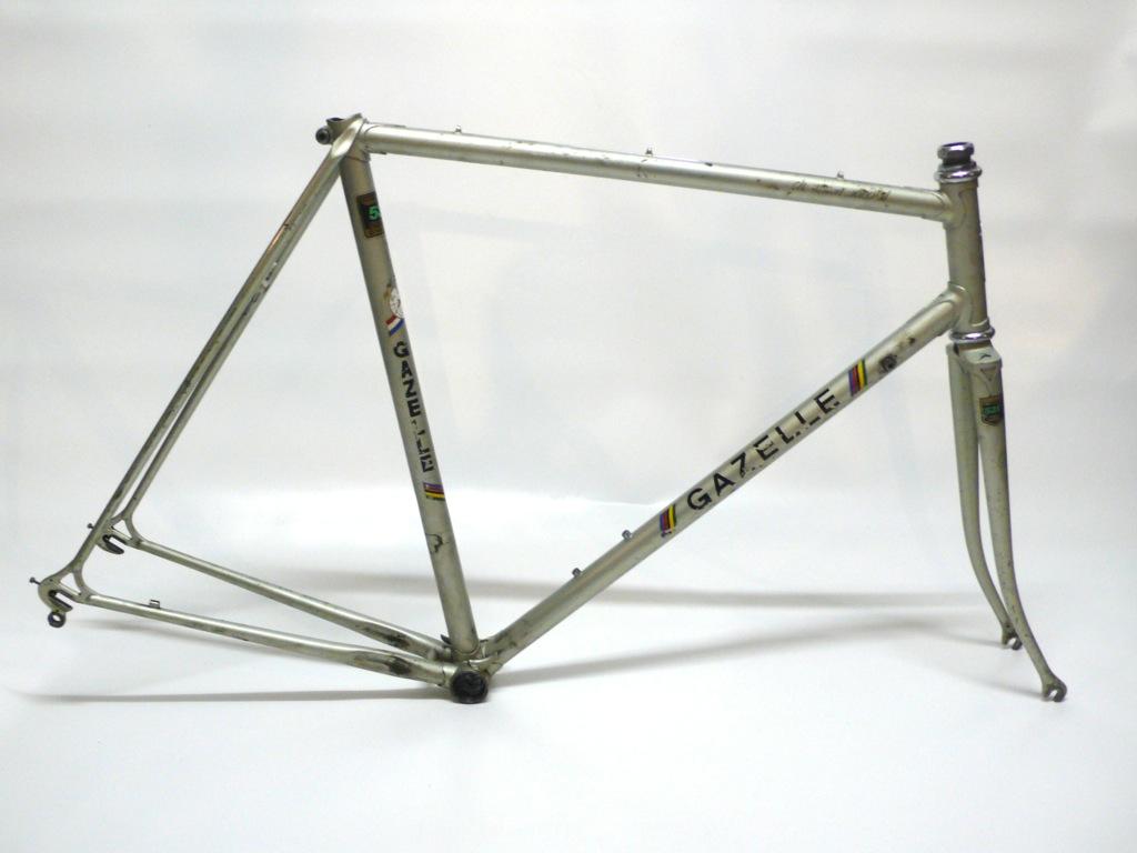 Vintage Gazelle Champion Mondial Frame and Fork 57cm - Santucci Cycles