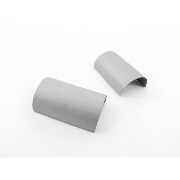 Stainless handlebar shim 35mm